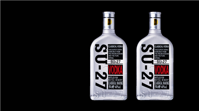 500ML SU-27 VODKA